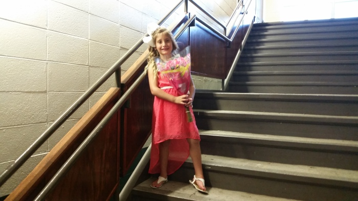 madisyn on stairs