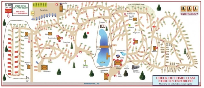 colorado heights rv park map