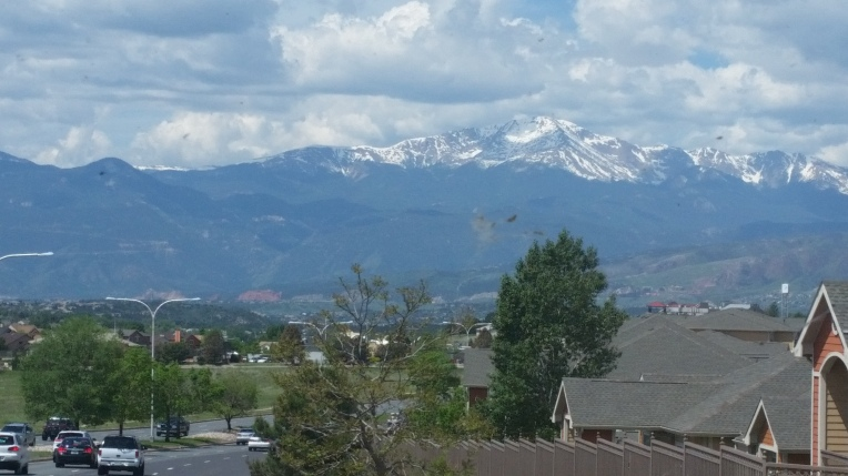mountain up close