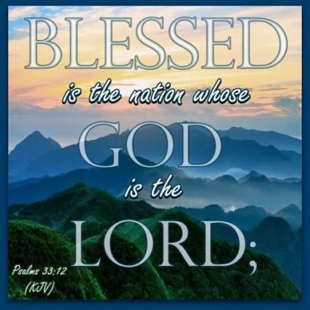 psalm 33 12