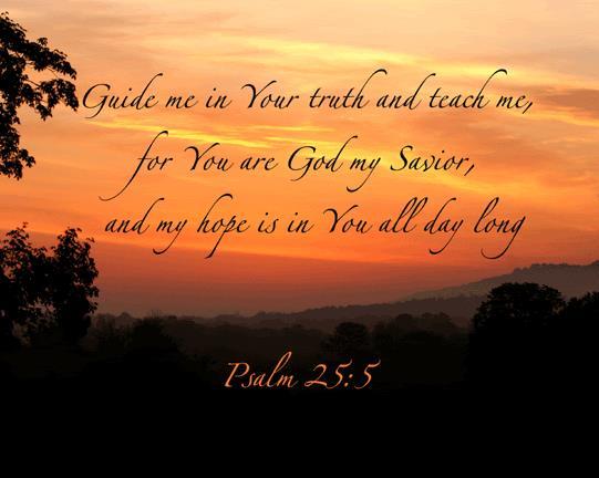 psalm 25 5