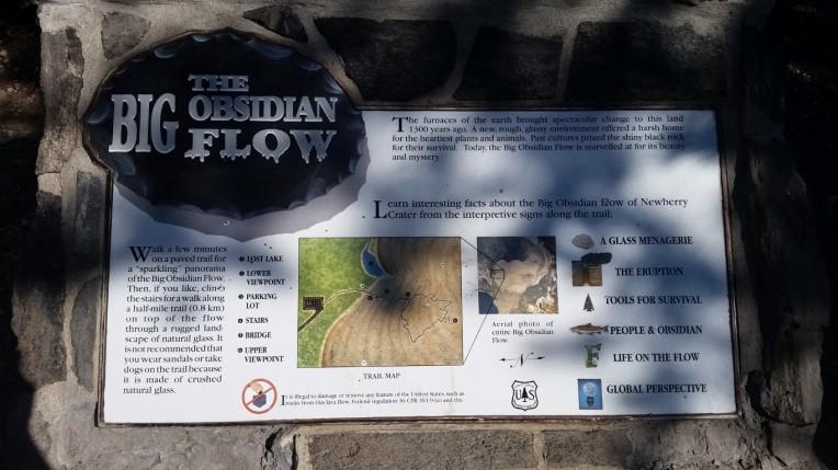a big obsidian flow (Medium)