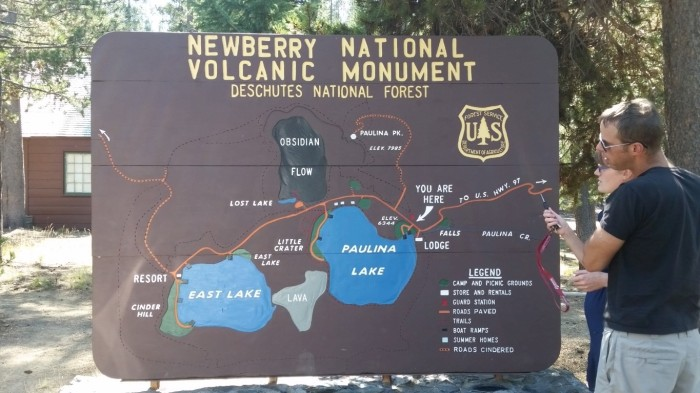 a visitor center monument sign (Medium)