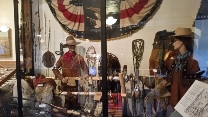Costumes used in Buffalo Bill's Wild West show