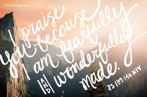 psalm 139 14a niv