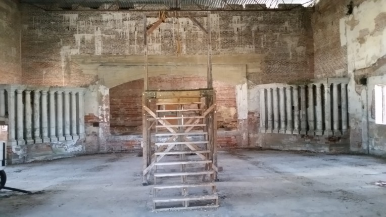 The Gallows inside the Theatre