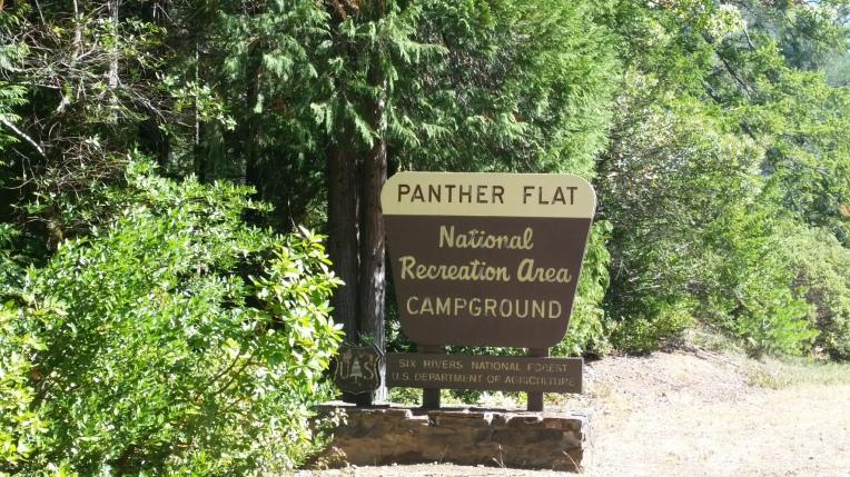 panther flat sign