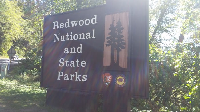 REDWOOD SIGN