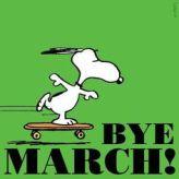 bye march
