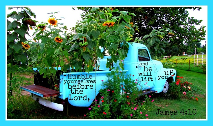 truck for scripture picture bowed down