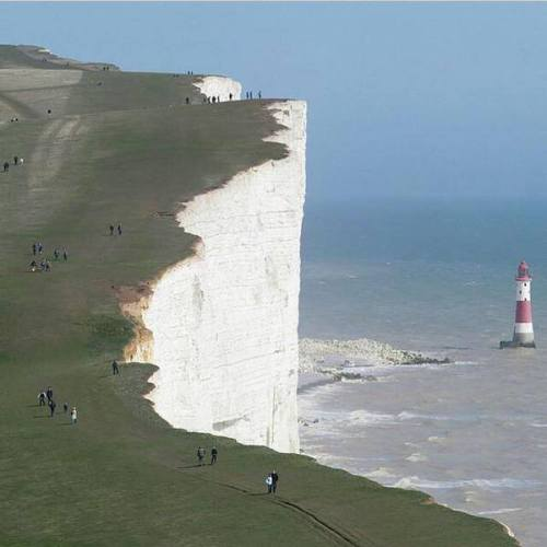 Beachy Head Cliffs, England.