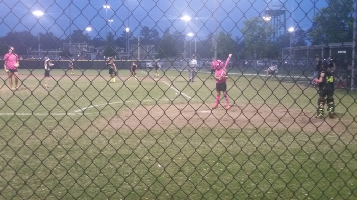 madisyn at bat