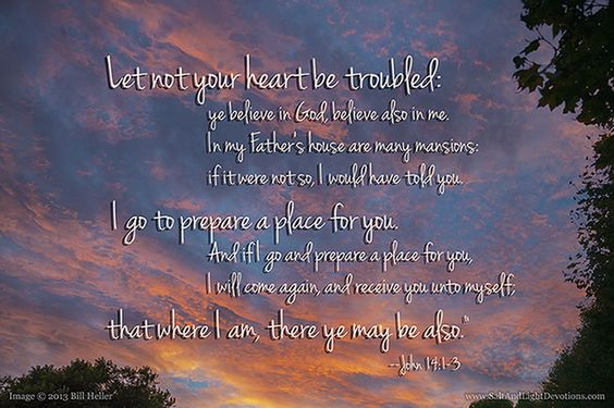 "Let not your heart be troubled: ye believe in God, believe also in me. In my Father's house are many mansions: if it were not so, I would have told you. I go to prepare a place for you. And if I go and prepare a place for you, I will come again, and receive you unto myself; that where I am, there ye may be also."" John 14:1-3 KJV This evening was promising to be a beautiful one. But when the clouds put on their show I was amazed even more than usual. The structures were amazing, and they were changing as fast as the light. This beautiful glow on the high wispy clouds only lasted for a few moments. What a beautiful time of year!"