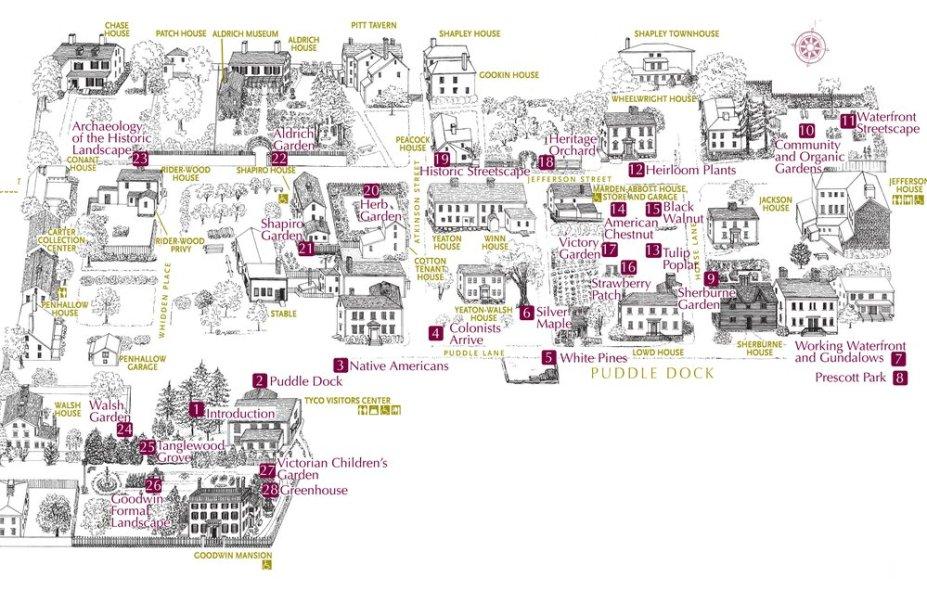 strawbery banke map