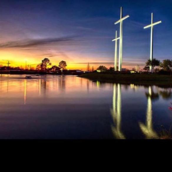 bethay church crosses on i10