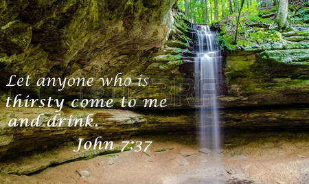 30198812-living-waters-waterfall-with-quote-from-the-new-testament-of-the-king-james-bible