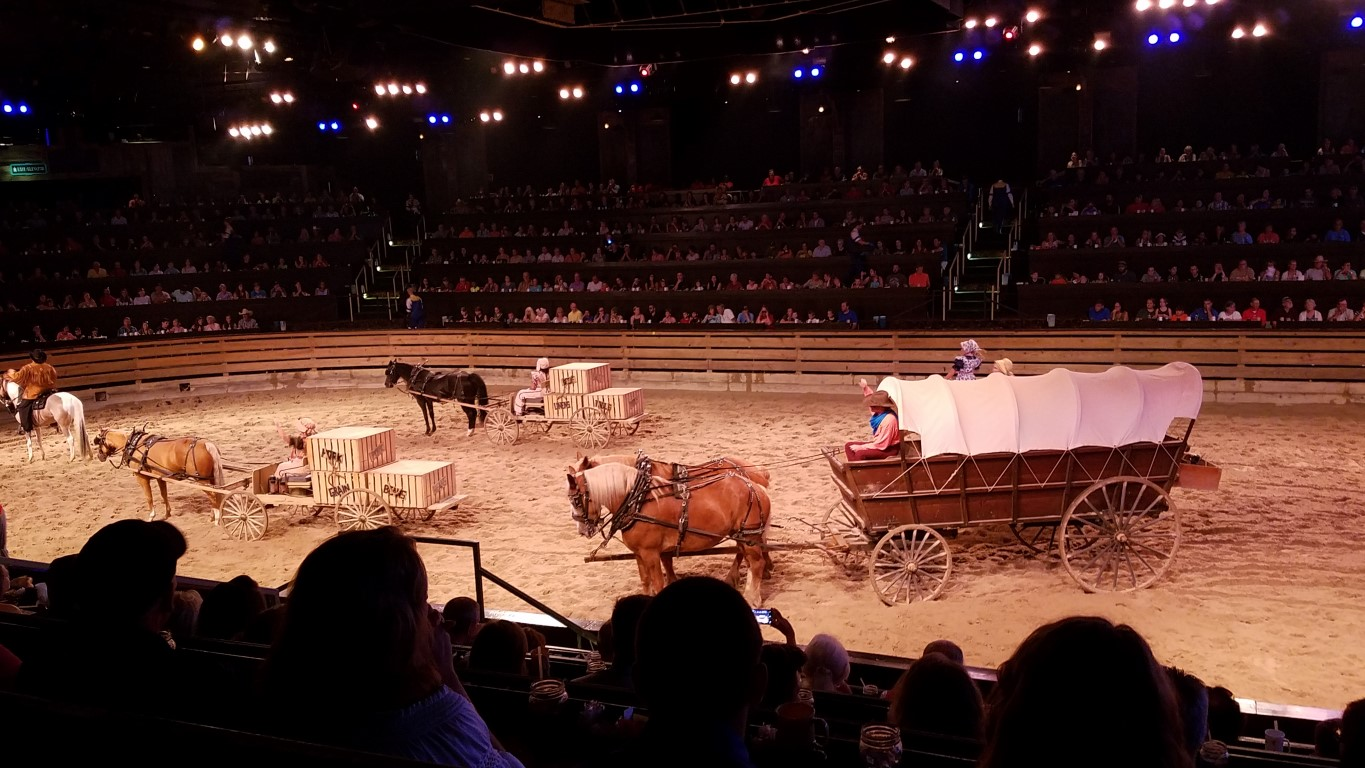 07 21 17 Dixie Stampede In Branson Missouri Because He