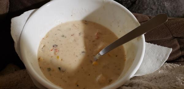 Crawfish Shrimp Corn Soup